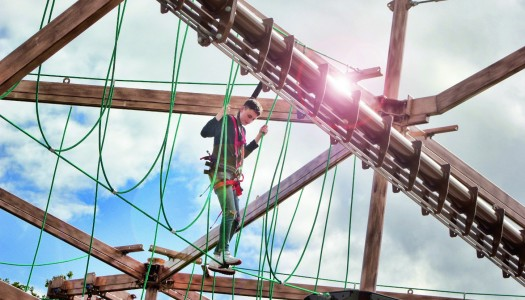 Innovative Leisure completes Drayton Manor ropes course