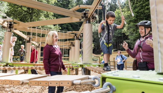 Center Parcs adds third Sky Tykes ropes course