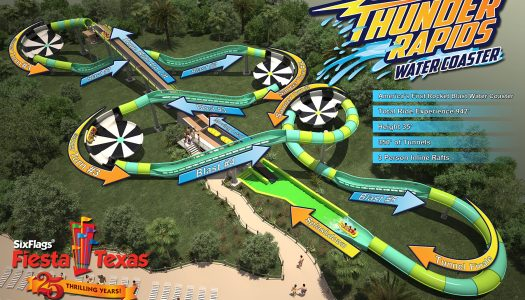 Thunder Rapids water coaster to open in 2017