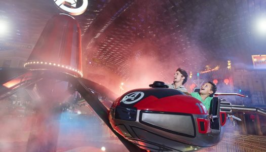 IE Park installs three rides at IMG Worlds of Adventure