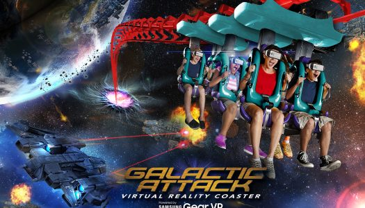 Six Flags debuts world's first mixed reality experience
