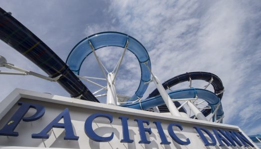 Australian cruise ship welcomes a waterpark