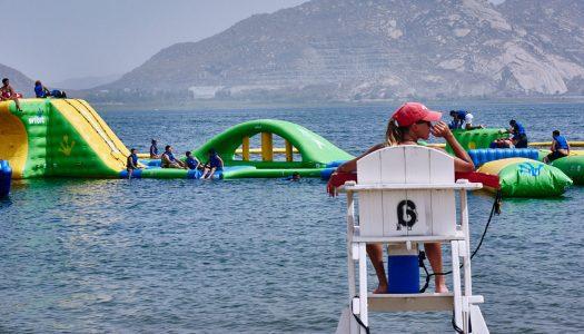 Lake Perris waterpark draws in the crowds
