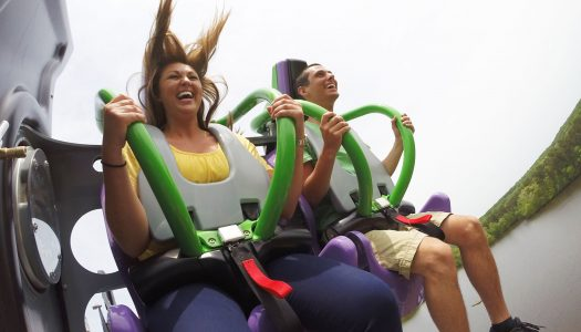 Six Flags opens latest licensed coaster in Texas