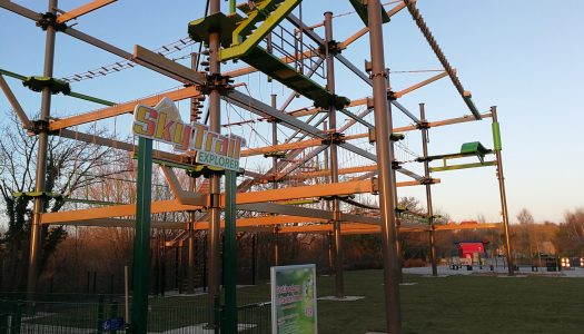 New ropes course for Denmark's Universe park