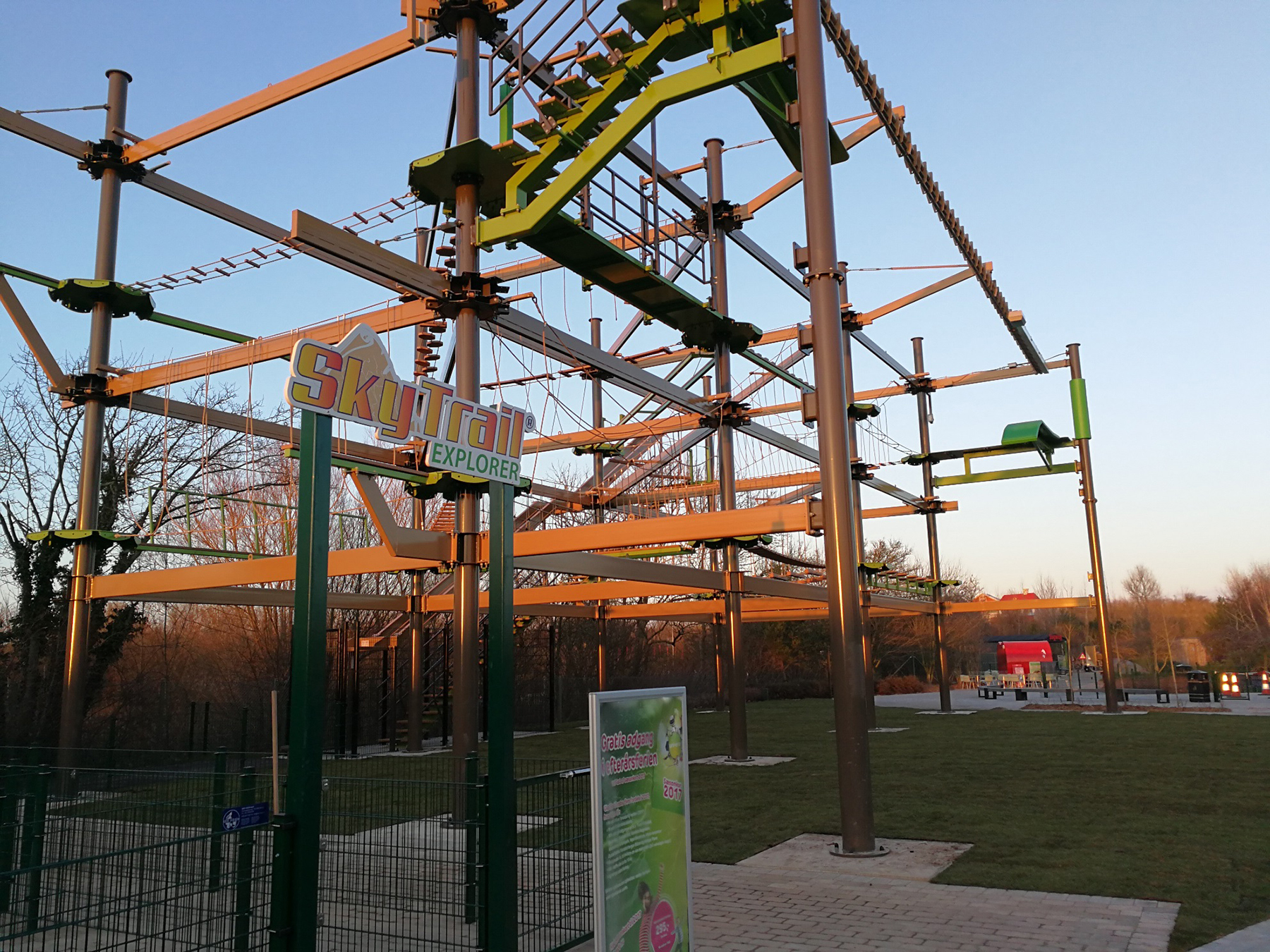 New Ropes Course For Denmark S Universe Park Interpark
