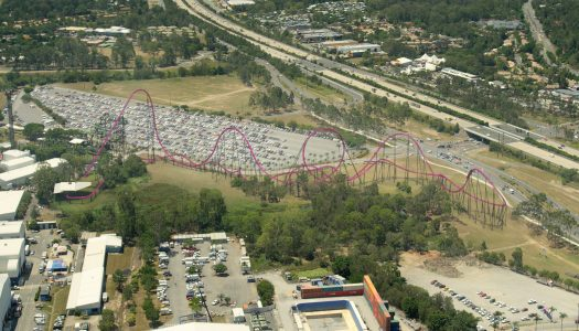 Movie World developing DC Rivals HyperCoaster