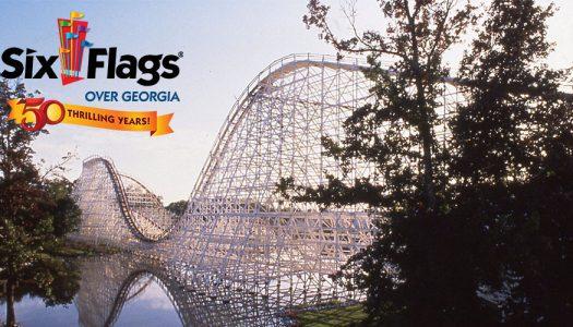 Six Flags Over Georgia celebrates 50th anniversary