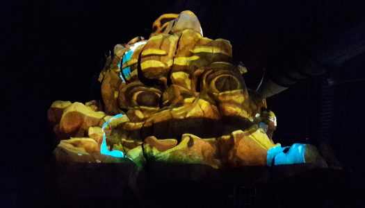 Fantasy Island unveils projection mapping spectacular