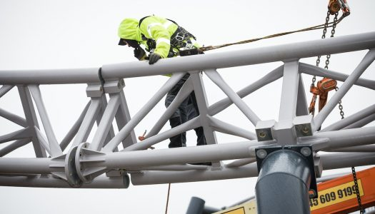 Blackpool's new rollercoaster Icon is (almost) complete