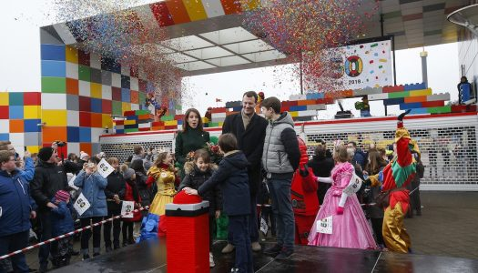 Royal visit kicks off golden anniversary season at Legoland Billund
