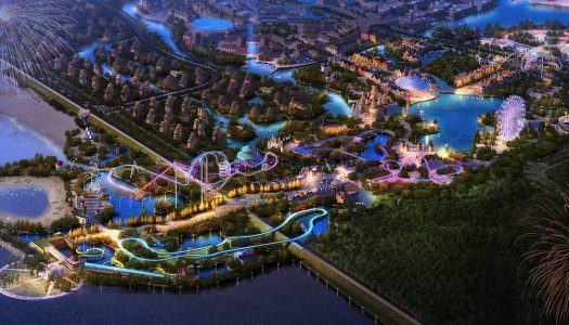 Six Flags confirms third Chinese location