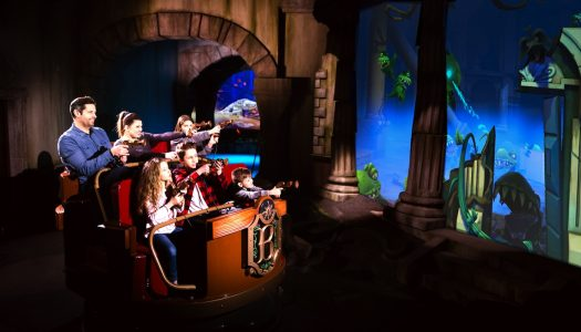 Poland's first interactive dark ride debuts at Legendia