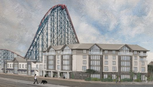 Blackpool Pleasure Beach confirms name of new hotel