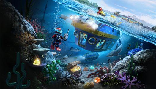 Deep Sea submarine ride opens at LEGOLAND California