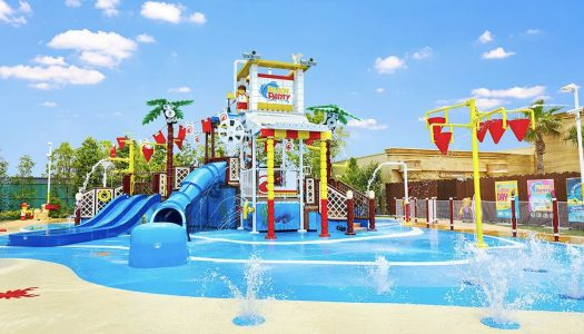 Beach Party water play area launched at LEGOLAND Japan
