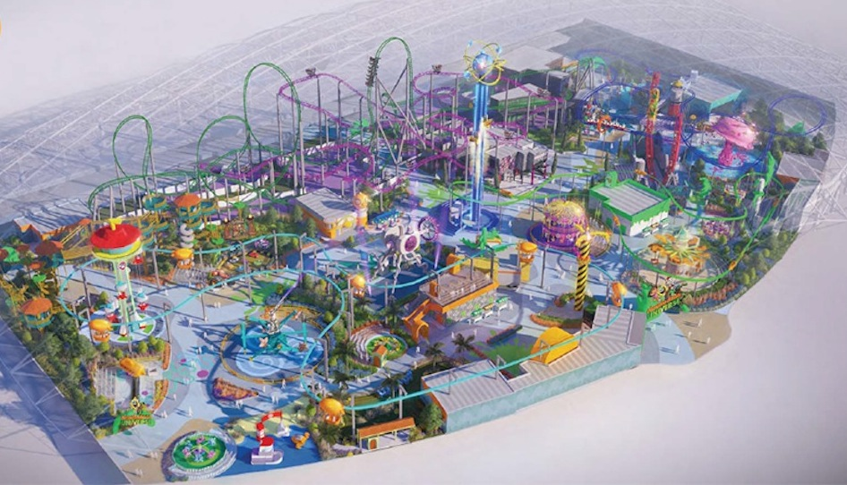 Nickelodeon theme park for Mall of China - InterPark