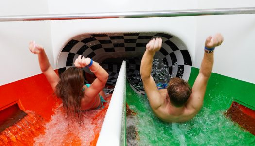 Europe's longest closed racing slide launched at Alpamare