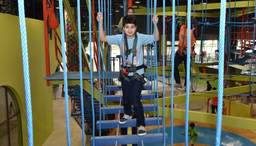 Oman's first SkyTrail ropes course opens in Muscat