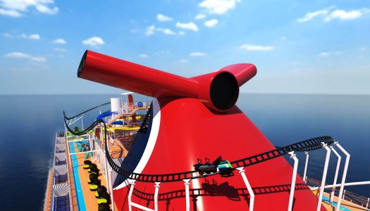 First ever rollercoaster at sea coming to Carnival Cruise Line
