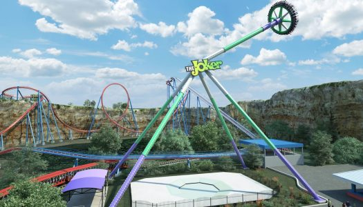 The Joker Wild Card comes to the Six Flags Fiesta Texas