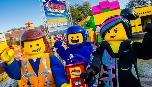 LEGOLAND Florida to open THE LEGO MOVIE WORLD this spring