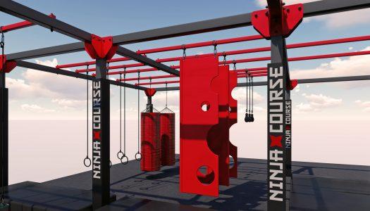 Walltopia upgrades its Ninja Course steel structure