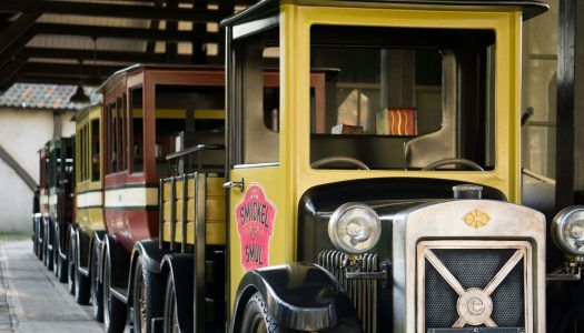 Classic car ride De Oude Tufferbaan reopens at Efteling, Holland