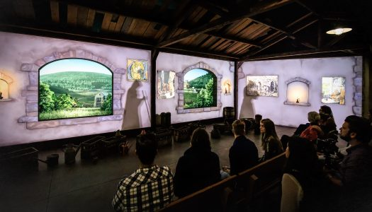 New immersive wine cellar attraction opens in Hameau Dubœuf, France