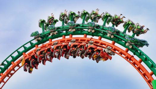 Dueling Dragons coaster is launched in China