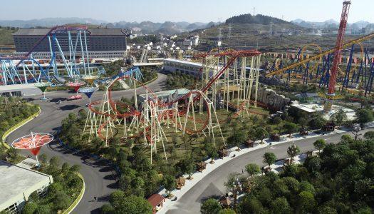Tilting coaster, Golden Horse/Jinma Co.