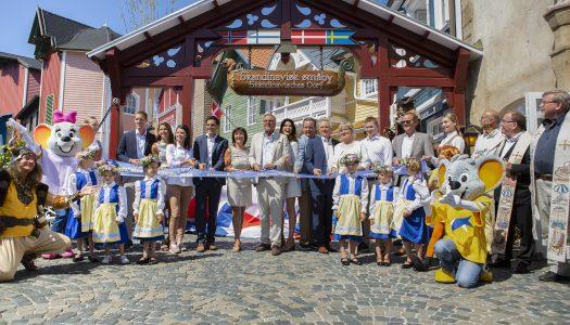 Europa-Park celebrates reopening of Scandinavian themed area