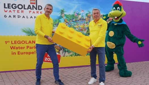 Building commences at Legoland Waterpark, Gardaland