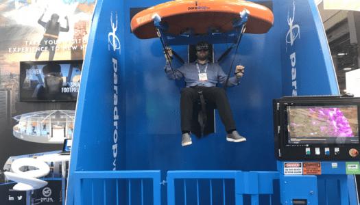 ParadropVR launches at Landmark Group's Tridom amusement park, India