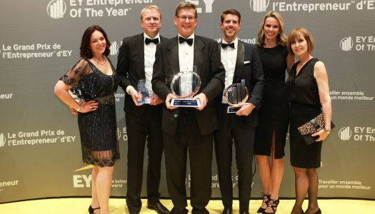 Ernst & Young name WhiteWater's president & CEO, Geoff Chutter Entrepreneur of the Year 2019 Pacific