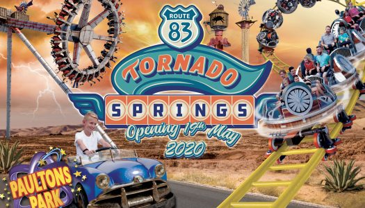 Countdown begins for new themed area Tornado Springs at Paultons Park