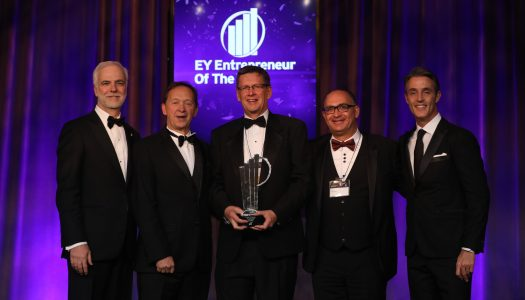 Geoff Chutter is Ernst and Young's Canadian Entrepreneur of the Year 2019 winner