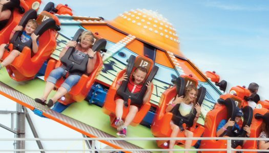 Pleasure Beach Great Yarmouth gears for arrival of white-knuckle ride