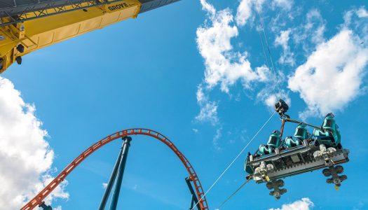 SeaWorld Orlando's Ice Breaker Track is Complete