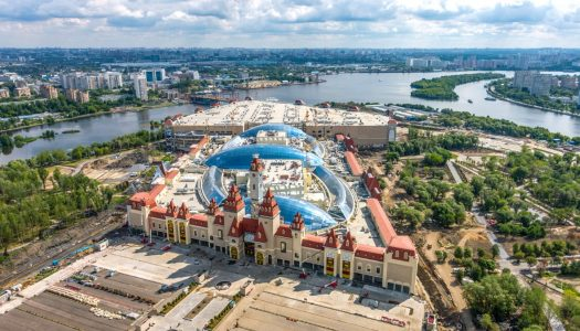 Moscow opens its doors to Dream Island theme park