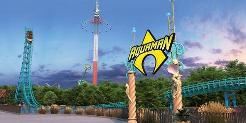 New Aquaman: Power Wave coaster set to make a splash at Six Flags Over Texas