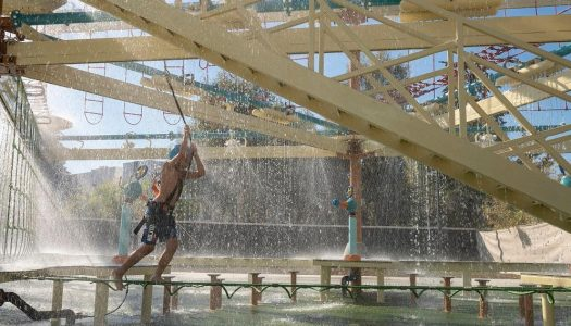 Polin introduces team-building activity Splash Course