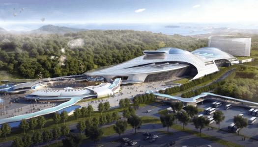 Zhuhai Chimlong Marine Science Museum in China set to break world records