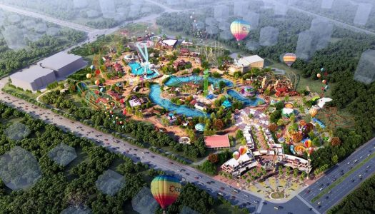 Zibo City to invest 2.25 billion yuan to develop a theme park and commercial complex