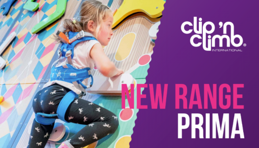 Clip 'n Climb launches Prima, the latest concept from its climbing collection