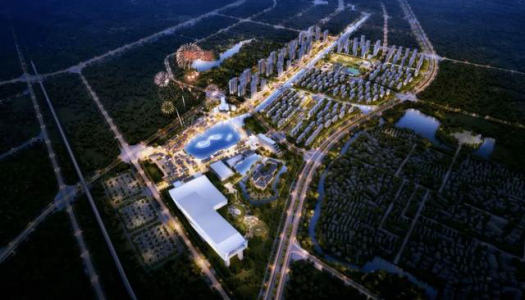 Construction now underway of the Zhongyuan Sunac Cultural Tourism City