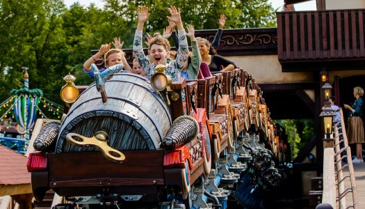 Efteling's Max & Moritz family rollercoaster now open to the public