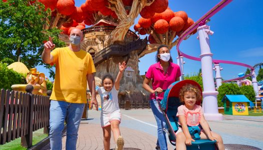 Gardaland is Italy's first theme park to reopen after COVID-19 pandemic