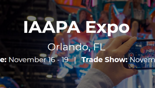 Registration is open for IAAPA Expo 2020 in Orlando, Florida