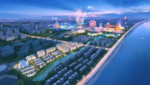 Sunac Cultural Tourism City to replace suspended Six Flags Park project in Haiyan, China